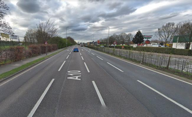 The A10 in Enfield (Photo: Google Maps)
