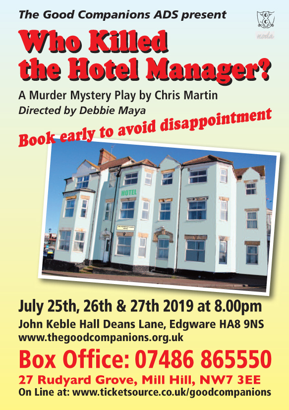 Who killed the Hotel Manager? by Chris Martin