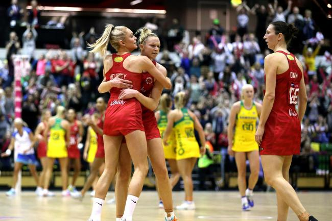 England are aiming for more success at the Netball World Cup