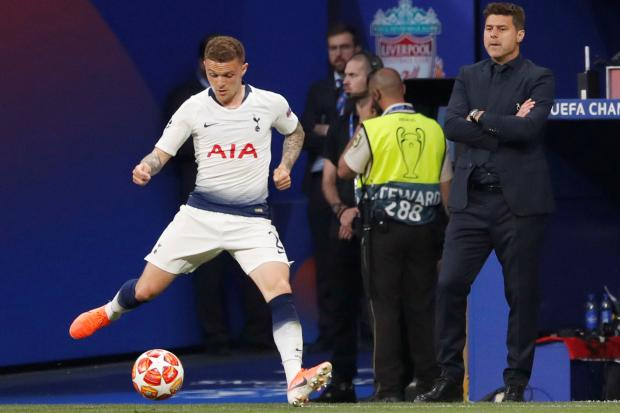 Kieran Trippier's final Spurs appearance was in the Champions League final. Picture: Action Images