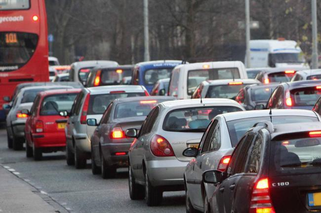 Rush hour delays for motorists this morning