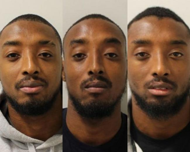 Ricky, Reiss and Ralston Gabriel. Photo: Met Police