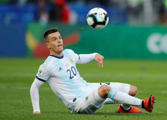 Sidelined: Giovani Lo Celso sustained the injury on international duty. Picture: Action Images