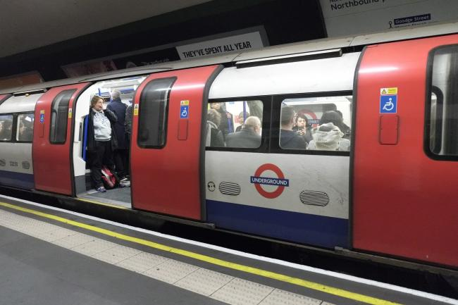 Sexual offences on the Tube have increased. Photo: Pixabay