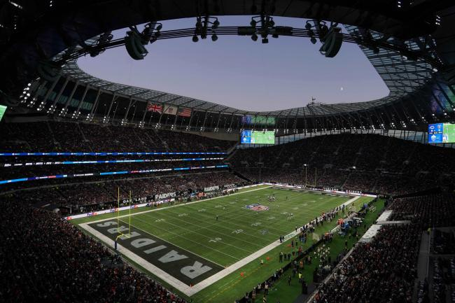Oakland Raiders beat Chicago Bears at Tottenham Hotspur Stadium. Picture: Action Images