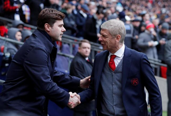 Arsene Wenger admitted he liked Mauricio Pochettino 'very much'. Picture: Action Images