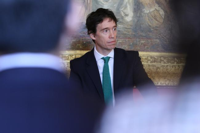 "Rory Stewart said terrorists must not ""fall through the gaps in the current system"". (Photo: Foreign and Commonwealth Office)."