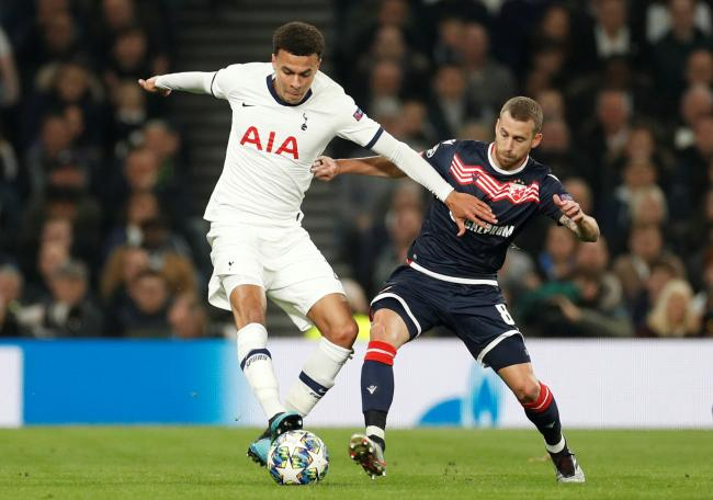 Dele Alli says the Tottenham Hotspur squad reamin fully behind Mauricio Pochettino. Picture: Action Images