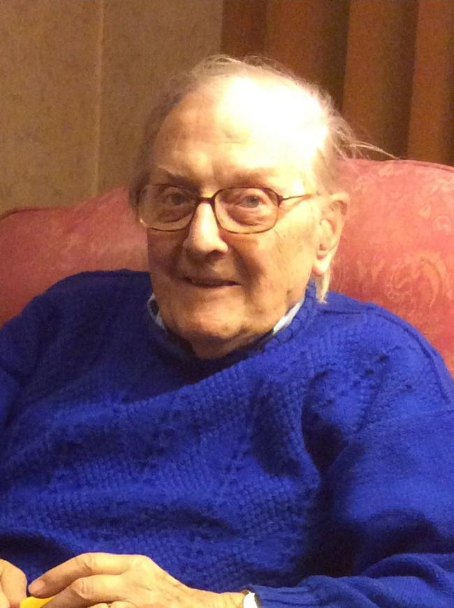 Mr Gouldstone, 98, died from head injuries. Photo: Met Police