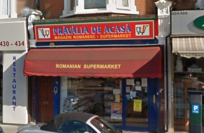 Pravalia de Acasa on Green Lanes (Image: Google Maps)
