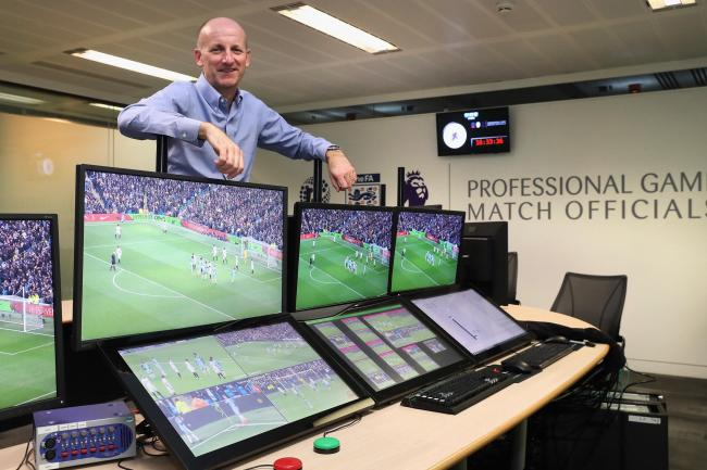Referees' chief Mike Riley is excited to be involved in the implementation of VAR