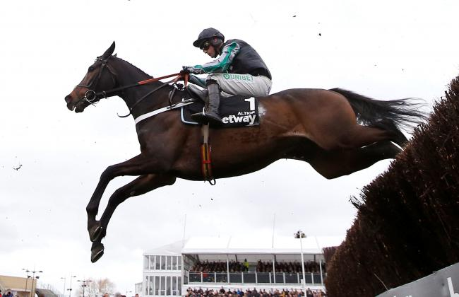 Altior ridden by Nico de Boinville won the Queen Mother Champion Chase for the second time at this year's Cheltenham Festival