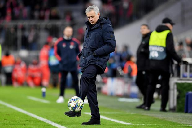 'We know where we belong': Jose Mourinho. Picture: Action Images