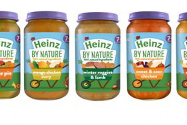 Heinz By Nature jars