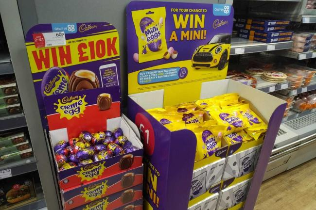 Co-op in Flixton, Trafford, has started selling Easter chocolate