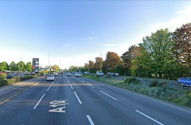 The A10 in Enfield (Image: Google Maps)