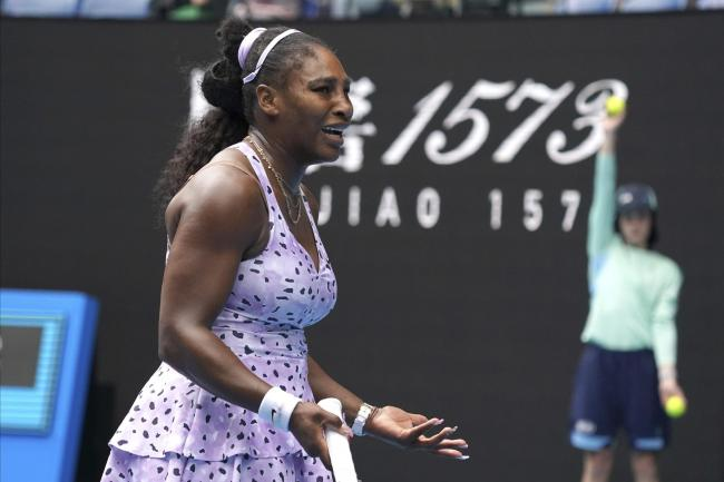 Serena Williams bade farewell to the Australian Open