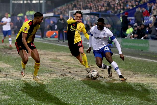Tranmere beat Watford on Thursday to set up an FA Cup fourth-round tie with Manchester United