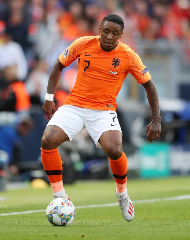 Spurs' new signing in action for the Dutch. Picture: Action Images
