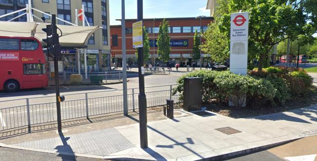 A man has died near Edmonton Bus Station (Photo: Street View)
