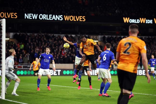 Willy Boly's goal for Wolves against Leicester was ruled out by VAR