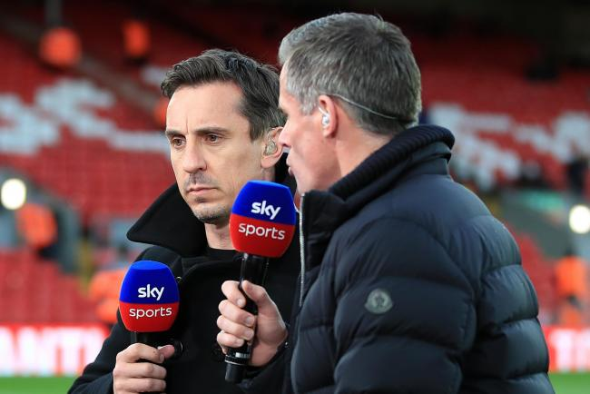 Gary Neville, centre, believes Manchester City will win their appeal against UEFA's decision to ban the club from European competitions for two years