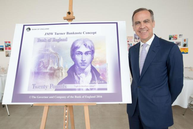 The new banknote will start to appear in ATMs and tills from Thursday as it enters circulation. Picture: PA