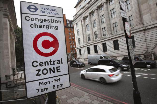 The congestion charge is now £15 a day, up from £11.50.