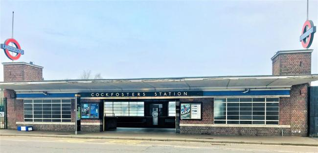 Cockfosters Underground Station (Image: Kate Bishop)