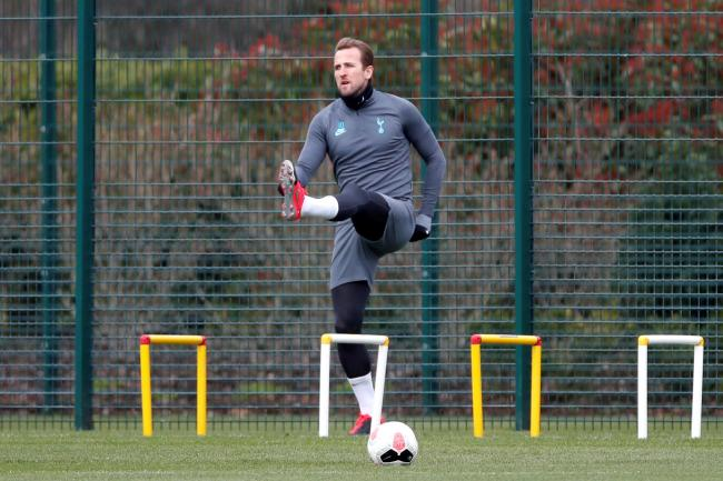 Harry Kane is moving closer to making his comeback from injury. Picture: Action Images