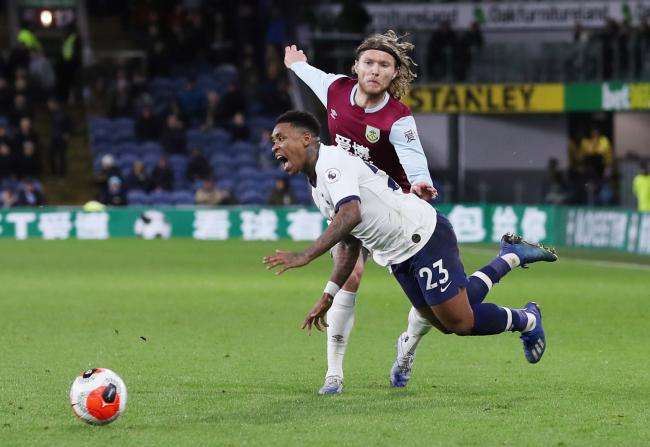 Steven Bergwijn sustained the injury in the draw at Burnley. Picture: Action Images