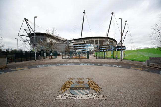 Manchester City's Premier League game against Arsenal tonight has been postponed. Picture: Action Images