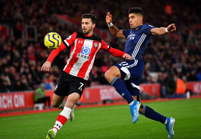 Watford in action against Southampton earlier in the season. Picture: Action Images