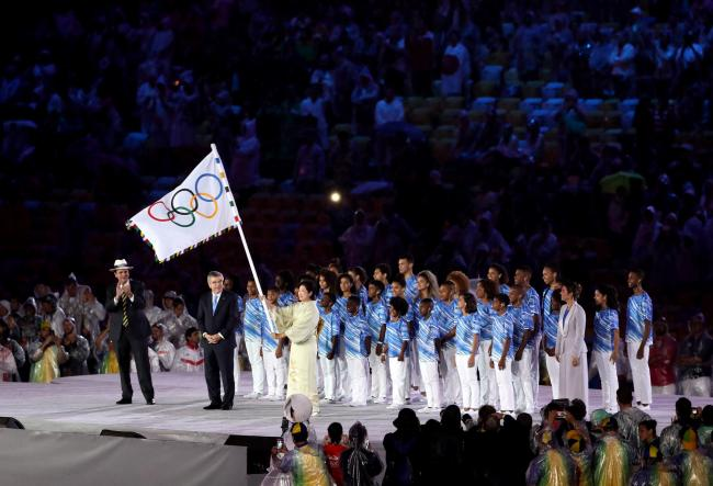 The Tokyo Olympics have been postponed until next year. Picture: Action Images