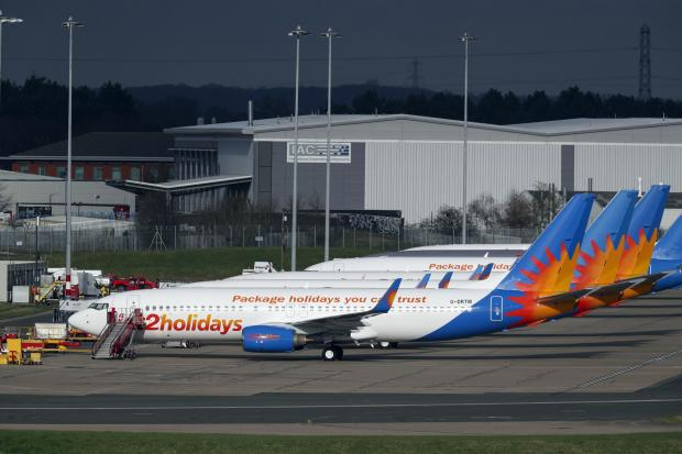 Tottenham Independent: AIRLINE: Several Jet2 planes have been parked up at Birmingham Airport during the pandemic. Picture: Steve Parsons/PA