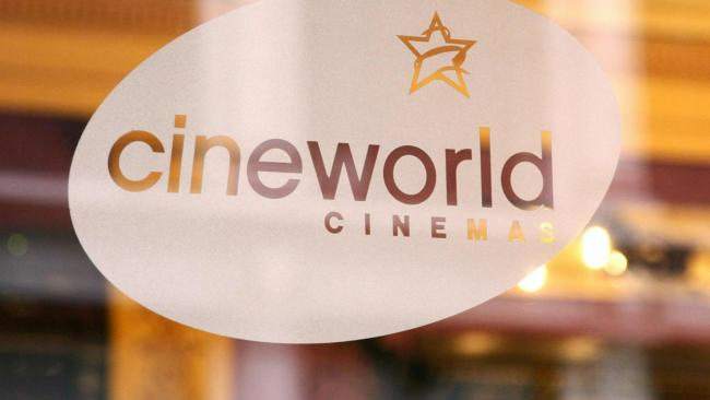 Cineworld said it had secured an extra £90 million in funding. Photo: PA