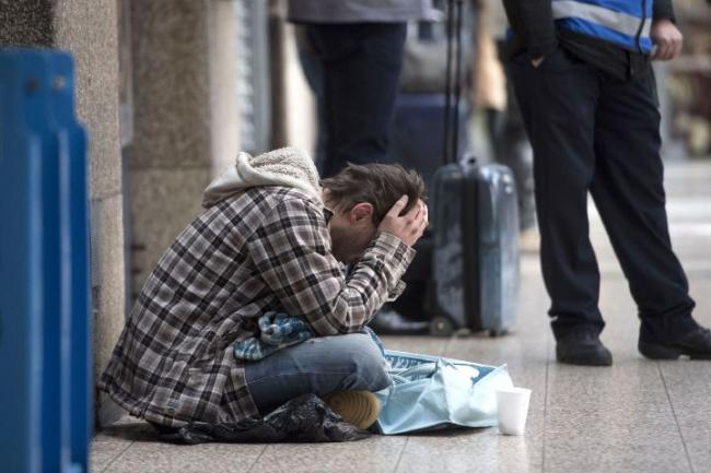 Rough sleeping in London was a third higher during lockdown than last year