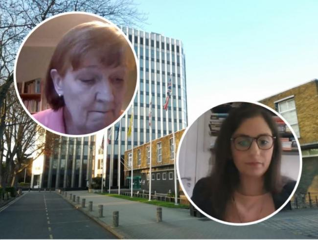 Cllr Dinah Barry (left) and Cllr Nesil Caliskan (right) clashed over allowances