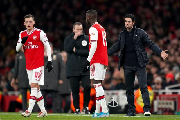 Mikel Arteta wants to keep hold of the likes of Nicolas Pepe this summer