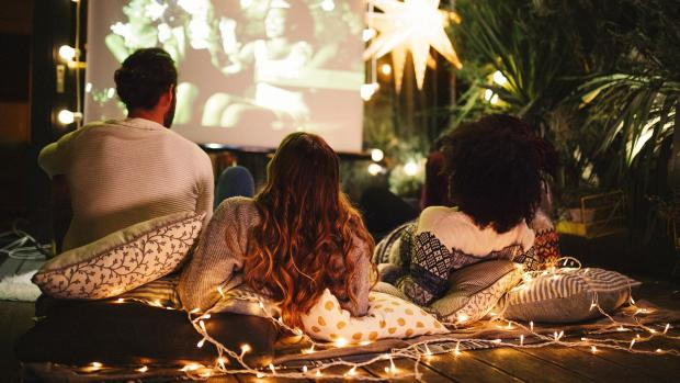 Tottenham Independent: Sit back and relax with a projector and outdoor screen. Credit: Getty Images / M_A_Y_A