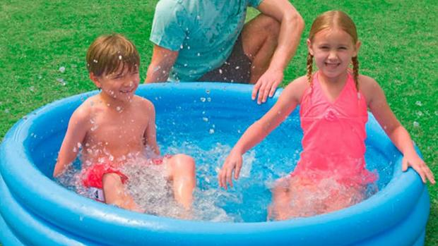 Tottenham Independent: Lower your body temp with this inflatable pool. Credit: Intex