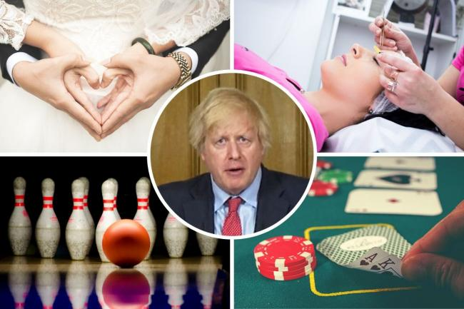 Full list: Boris Johnson reveals what can and can't open in England from August 1. Picture: Newsquest