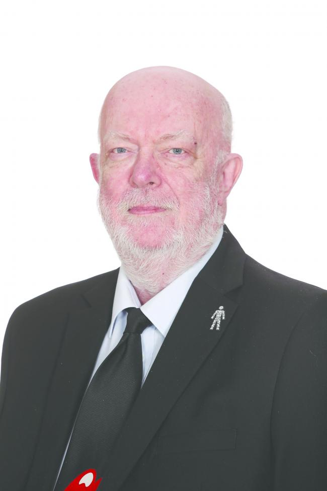Cllr Chris Bond served Enfield for 34 years (Image: Enfield Council)