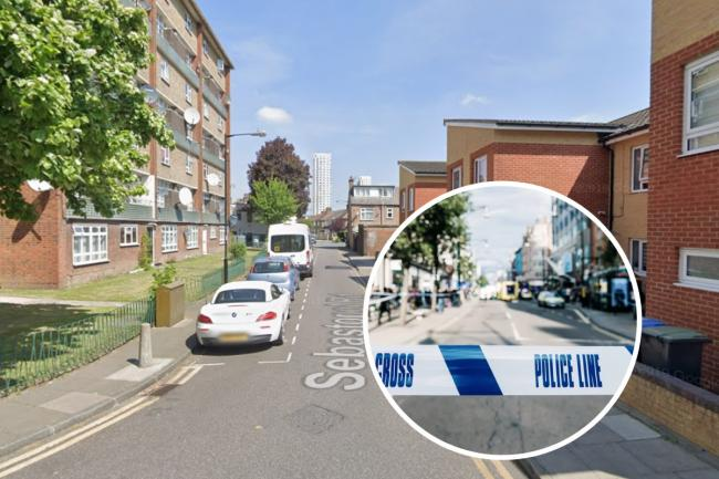 Christopher George, of Enfield, was shot to death in Sebastopol Road shortly before 9pm on Wednesday, July 29. Photo: Google Maps/Met Police