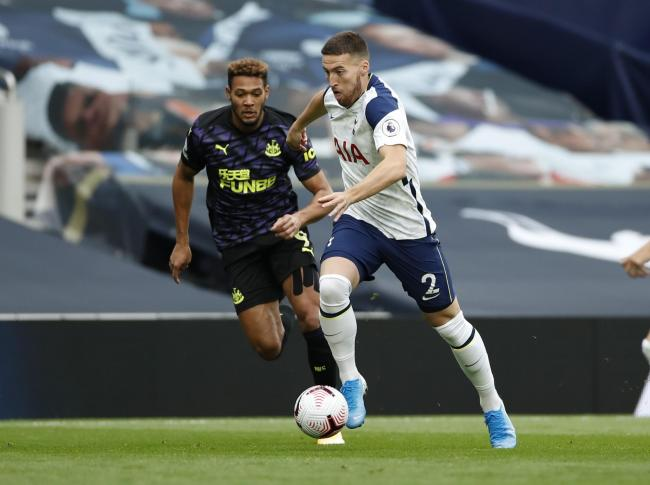 Matt Doherty playing for Tottenham. Picture: Action Images