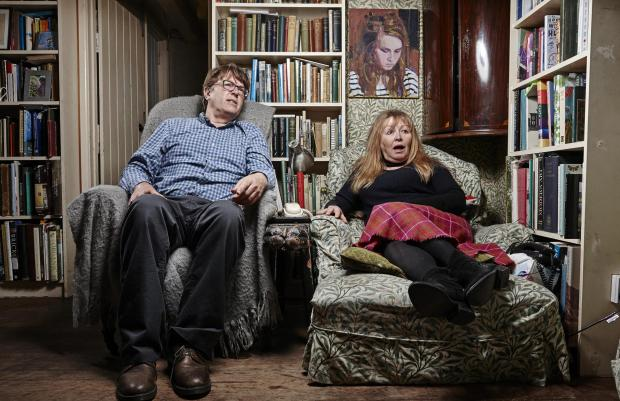 Tottenham Independent: Giles and Mary. Picture: Channel 4