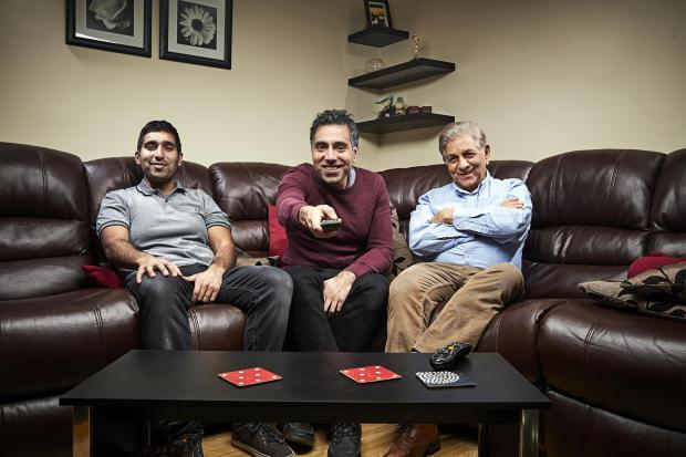 Tottenham Independent: The Siddiqui family. Picture: Channel 4