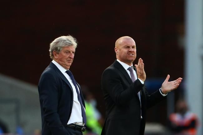 Crystal Palace manager Roy Hodgson believes Burnley counterpart Sean Dyche is experienced enough to get them out of trouble
