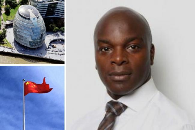 Shaun Bailey has previously suggested London should be de-twinned from Beijing over human rights concerns. Credit: GLA/Newsquest