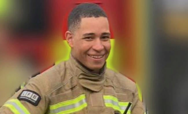 London Fire Brigade worker Jaden Francois-Esprit was found at his home in Wapping, east London